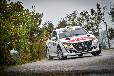 First title for Peugeot 208 Rally4 with Paolo Andreucci in Italy